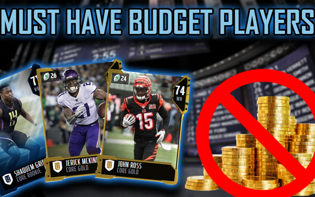 Budget Players You Need In Madden 19 Ultimate Team